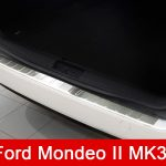 "The premiere of ""paste on the bumpers and not only – Rear bumper protector for Ford Mondeo MK3 version 2 Tournier."