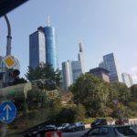 Frankfurt prezentuje się naprawdę okazale.