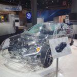 Przeźroczyste auto robiło prawdziwą furorę.