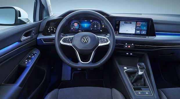 Wnętrze VW Golf 8