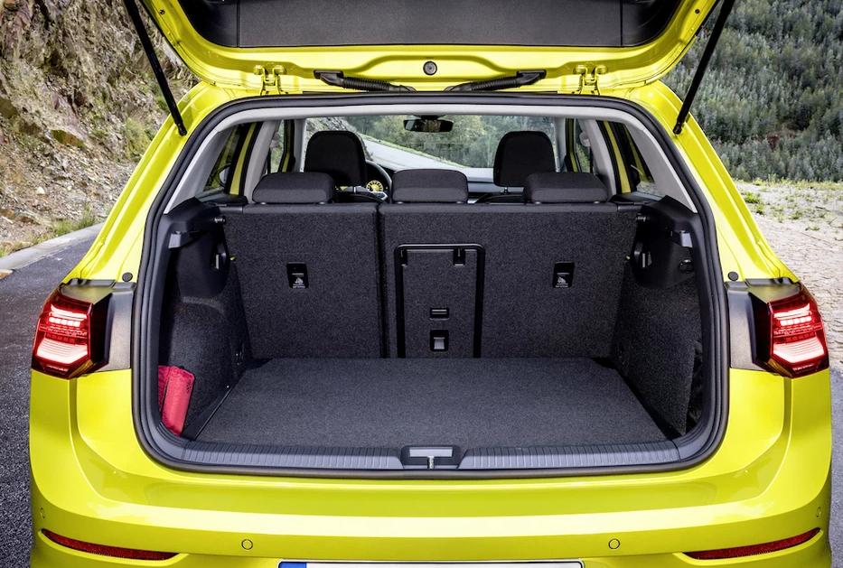 Bagażnik VW Golf 8